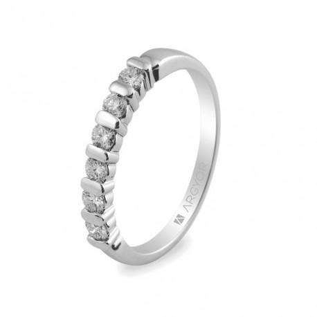 Eljegyzési gyűrű 0.39 ct gyémánttal 74B00021