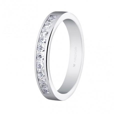 Eljegyzési gyűrű gyémánttal 14k 74B0052
