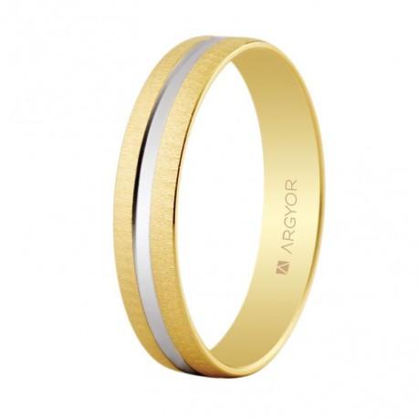 Karikagyűrű 18k kétszínű aranyból 5241474R