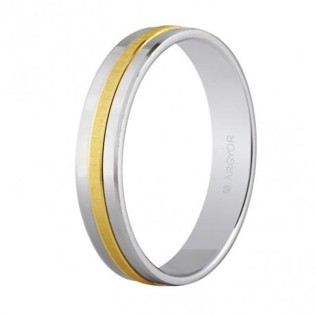Karikagyűrű 18k kétszínű aranyból 5242255